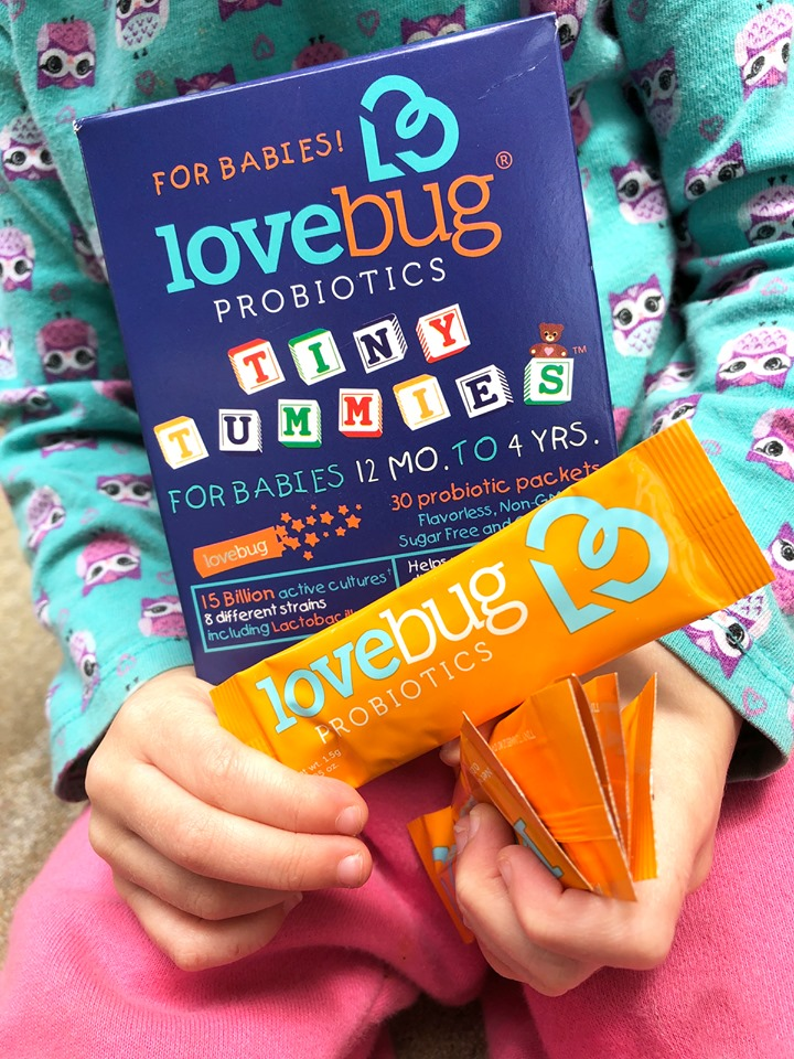 Win $50 Amazon Gift Card from LoveBug Probiotics, US only, ends 6/4