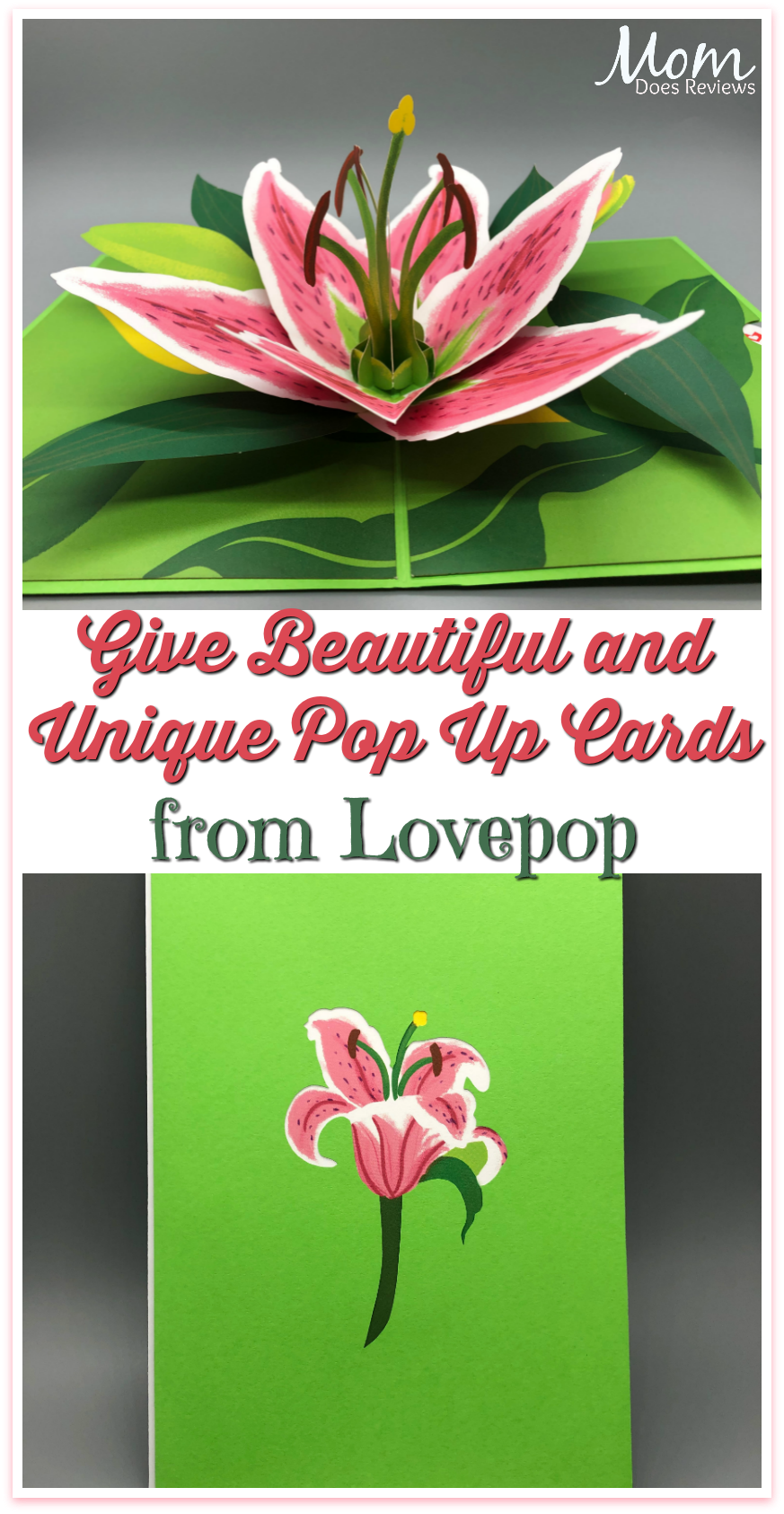 Give Beautiful and Unique Pop Up Cards from Lovepop #Giftsformom19 #cards #popupcards #greetingcards