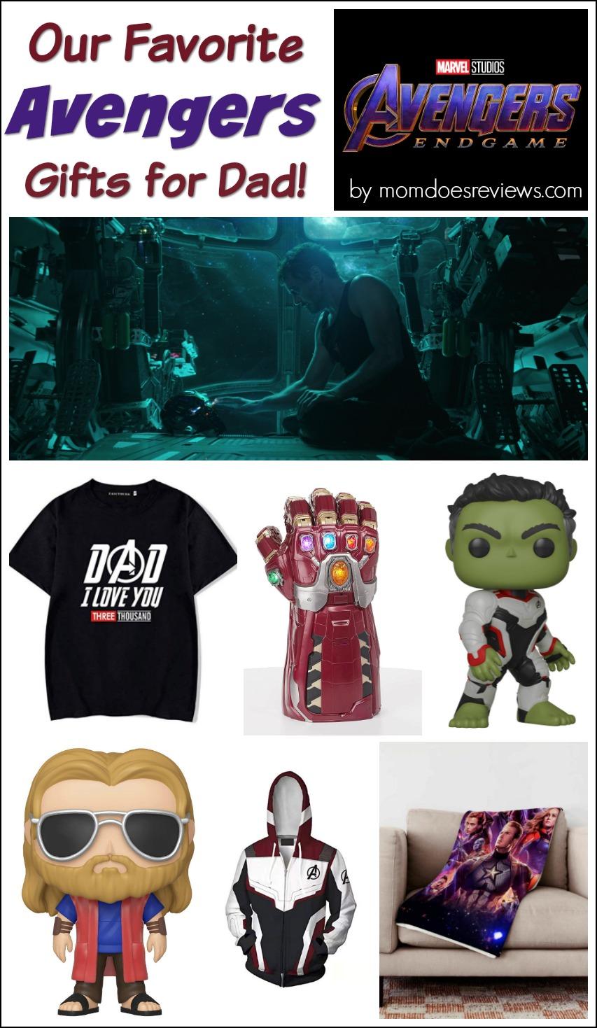 Our Favorite Avengers Gifts for Dad! #marvel #avengers #avengersendgam #giftideas