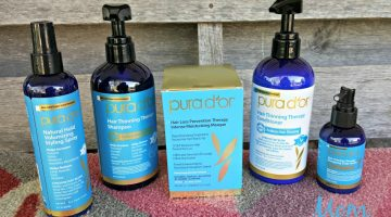 Pura D'or Hair Care Products Keep Dad's Hair in Top Condition
