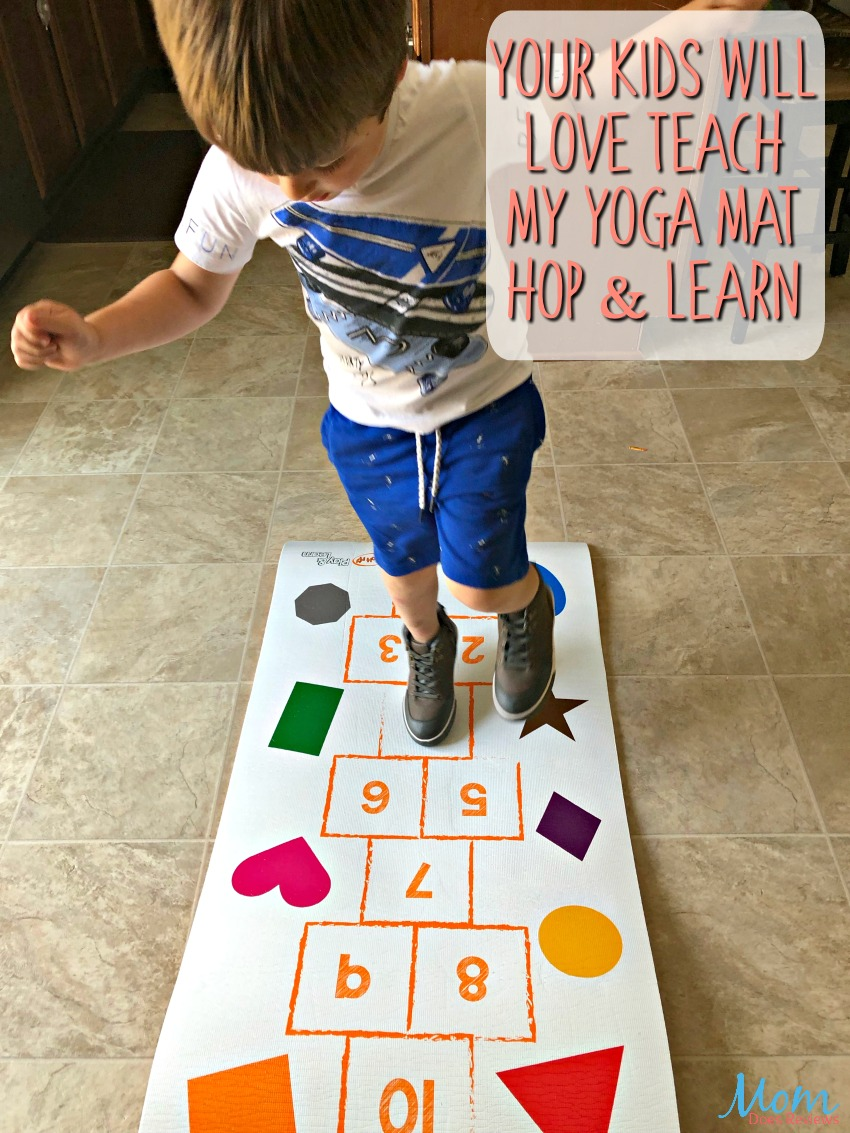 Keep Your Little One's Learning This Summer With Teach My-Yoga Mat