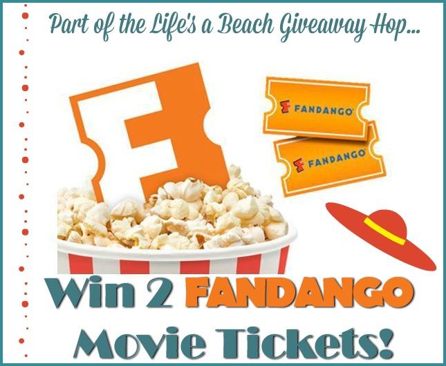 #Win 2 Fandango Movie Tickets! US, ends 6/4 -Life's a Beach #Giveaway Hop!