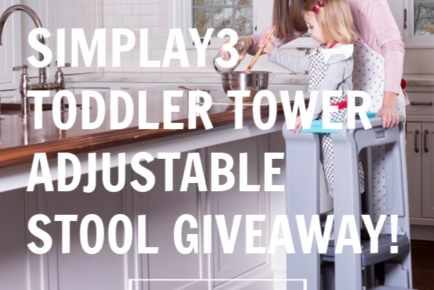 #Win Simplay3 Toddler Tower (APV $89)- US only, ends 5/21