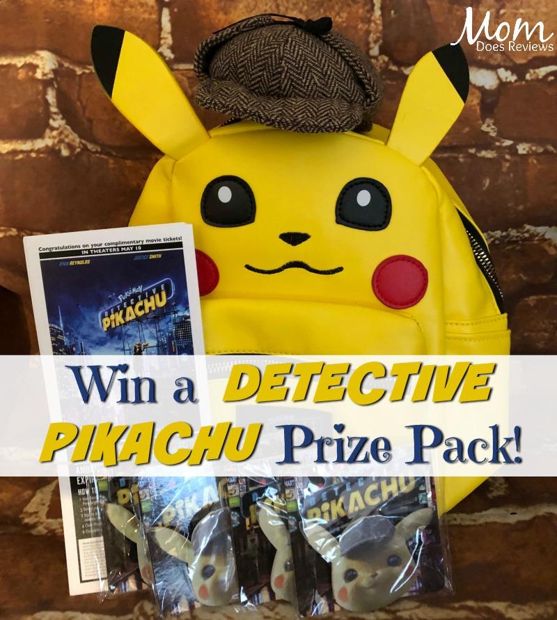 #Win a POKÉMON DETECTIVE PIKACHU Family Pack - US ends 5/21 #DetectivePikachu