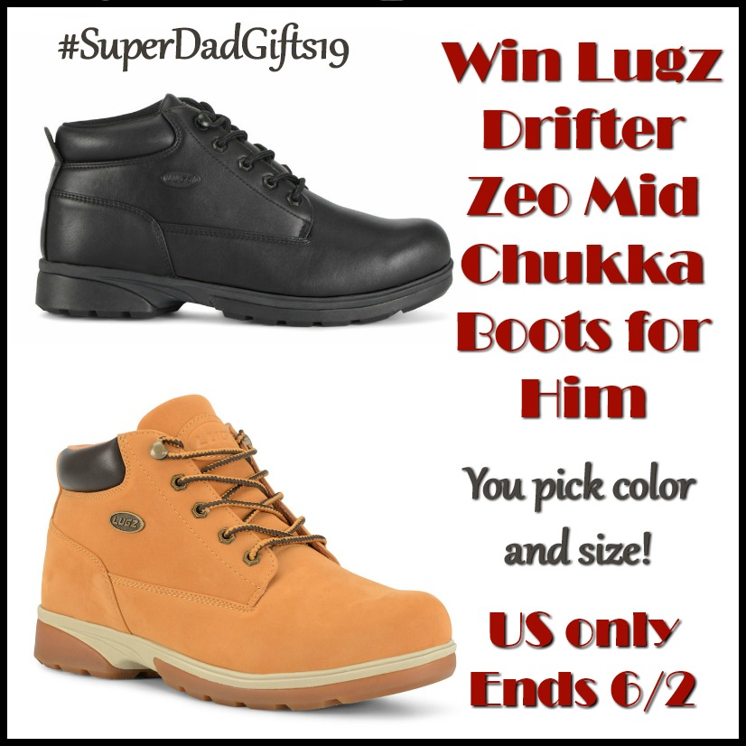 #Win Lugz Drifter Zeo Mid for Him! US, ends 6/2 #SuperDadGifts19