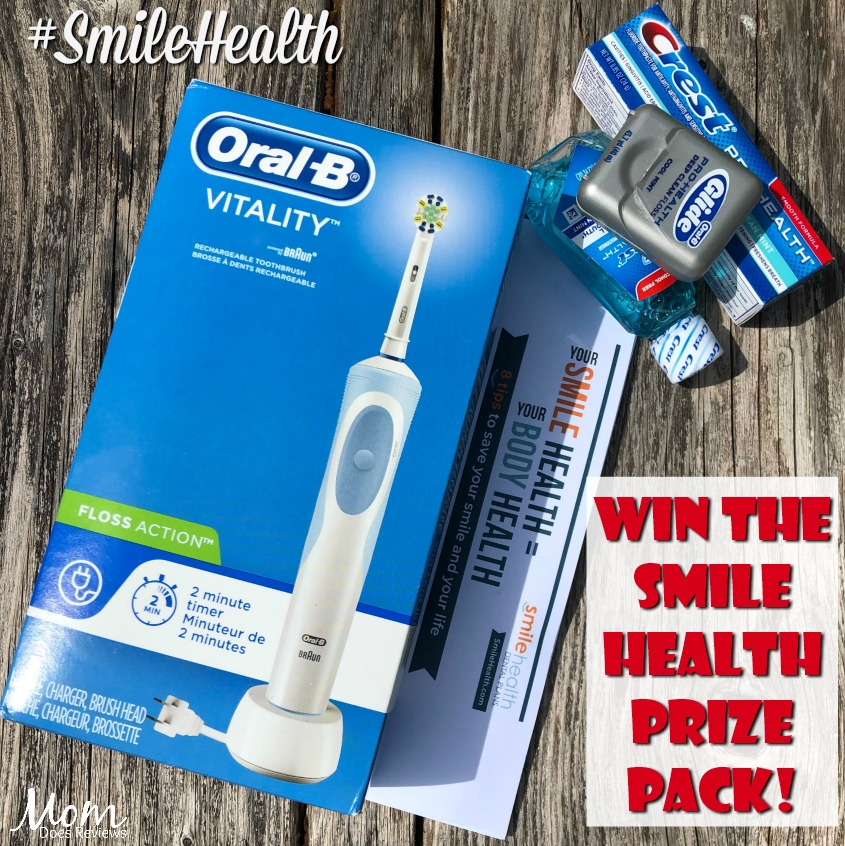 "#Win a ""Your Smile Health = Your Body Health"" Care Kit! US, ends 6/1 #SmileHealth"