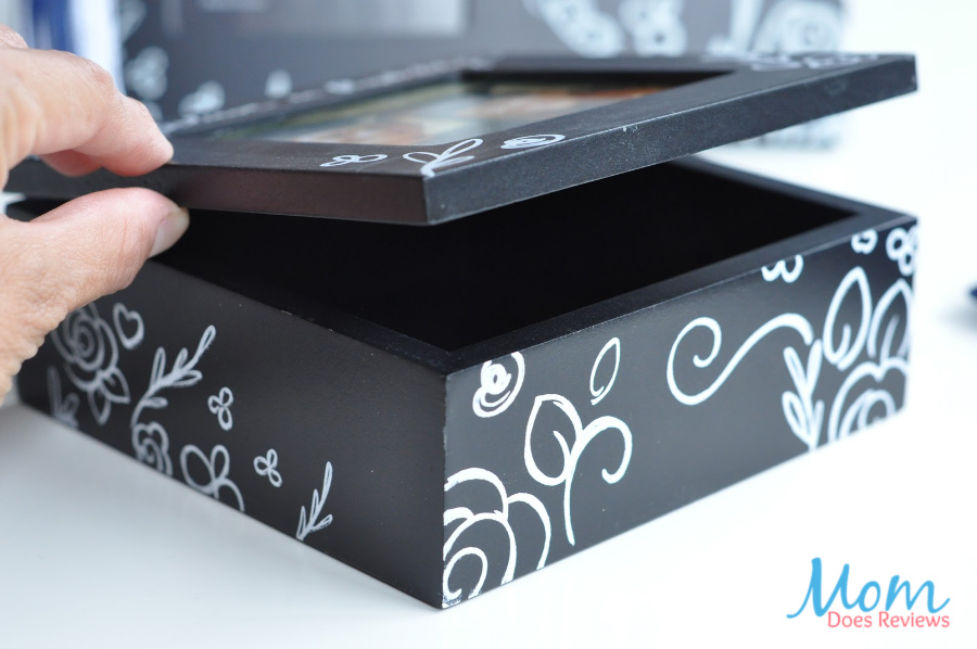 "Believe In Possibility"" 4 x 4 Photo Keepsake Box"