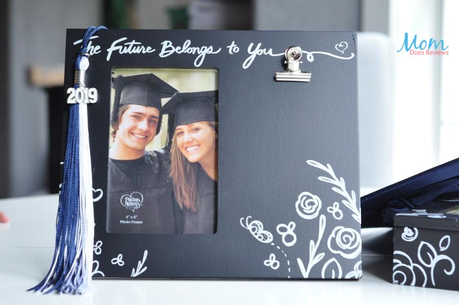 """The Future Belongs To You"" 4 x 6 Photo Frame, Wood/Metal ($18.99)"