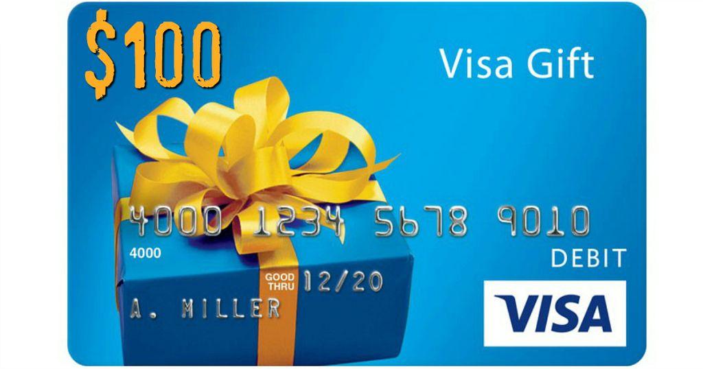 $100 visa gc grand prize