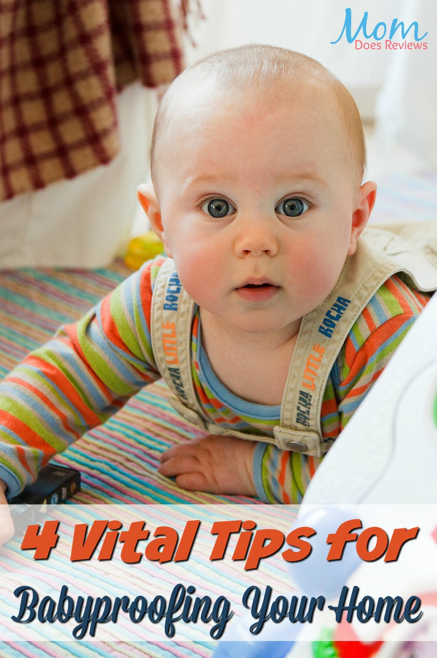 4 Vital Tips for Babyproofing Your Home #parenting #baby