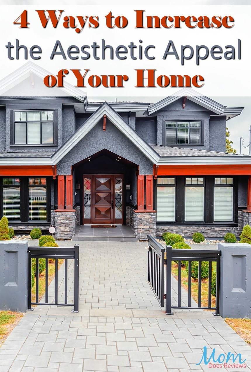 4 Ways to Increase the Aesthetic Appeal of Your Family Home #home #curbappeal #homeexterior