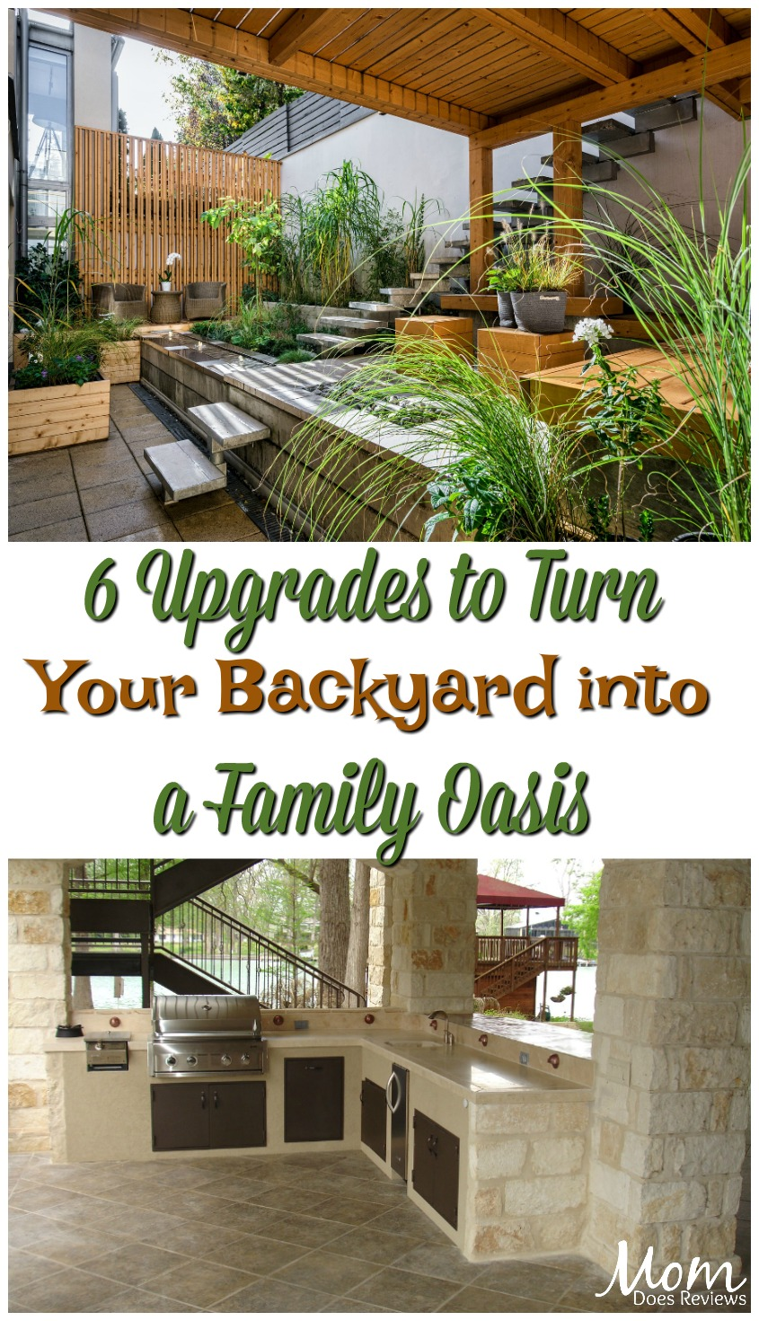6 Upgrades for Turning Your Backyard into a Family Oasis #home #backyard #diy #family