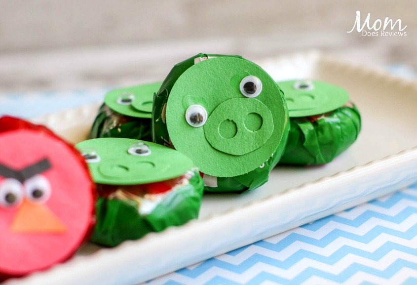 DIY Angry Birds Cheese Snacks #AngryBirdsMovie2