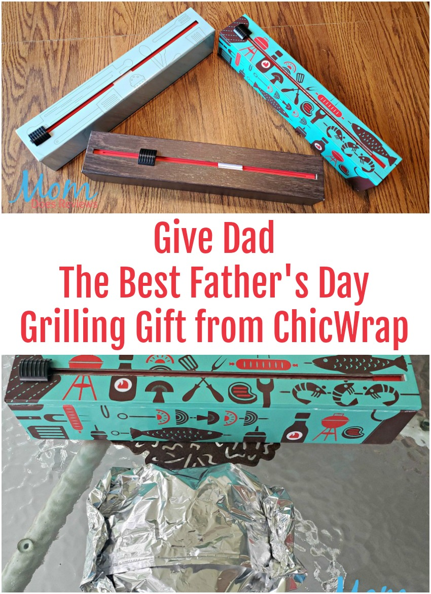 Give Dad The Best Father's Day Grilling Gift from ChicWrap