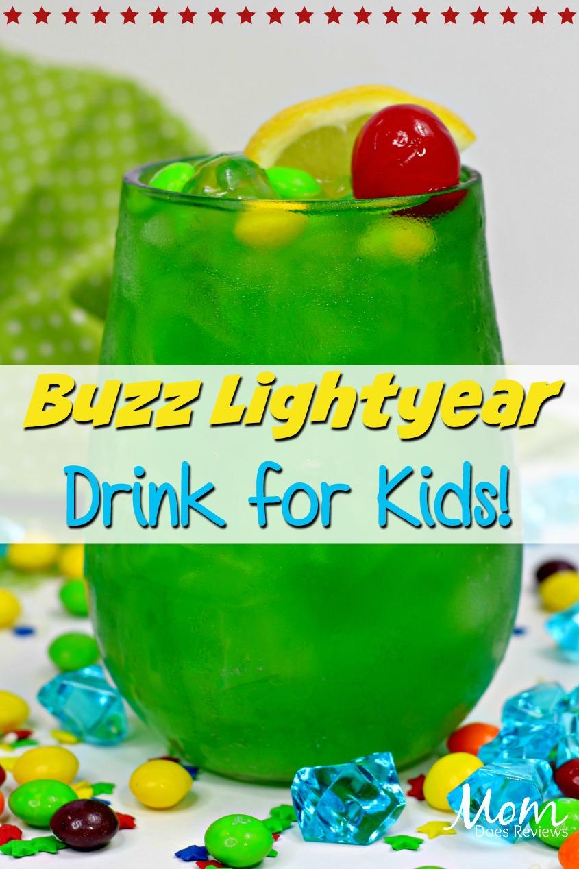 Buzz Lightyear Drink - to Infinity and Beyond! #ToyStory4 #disney #drinks #buzzlightyear #funfood