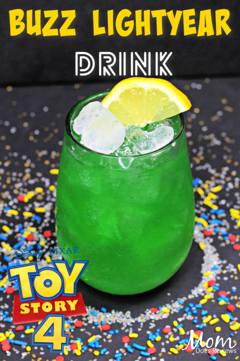 Buzz Lightyear Drink - to Infinity and Beyond! #ToyStory4