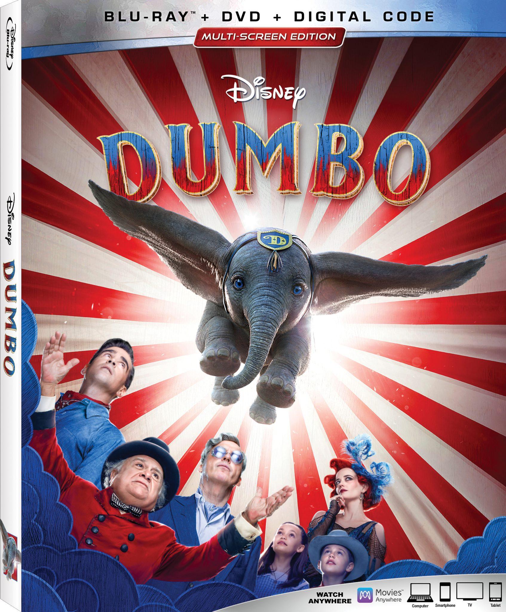 DUMBO is on Blu-ray and Digital TOMORROW 6/24 -Celebrate with Fun Activities! #Dumbo