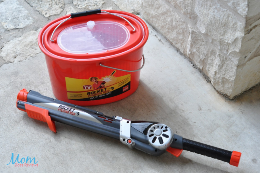 Fishing Rod and Bait Bucket