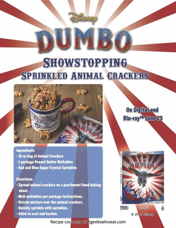 Dumbo Showstopping animal crackers