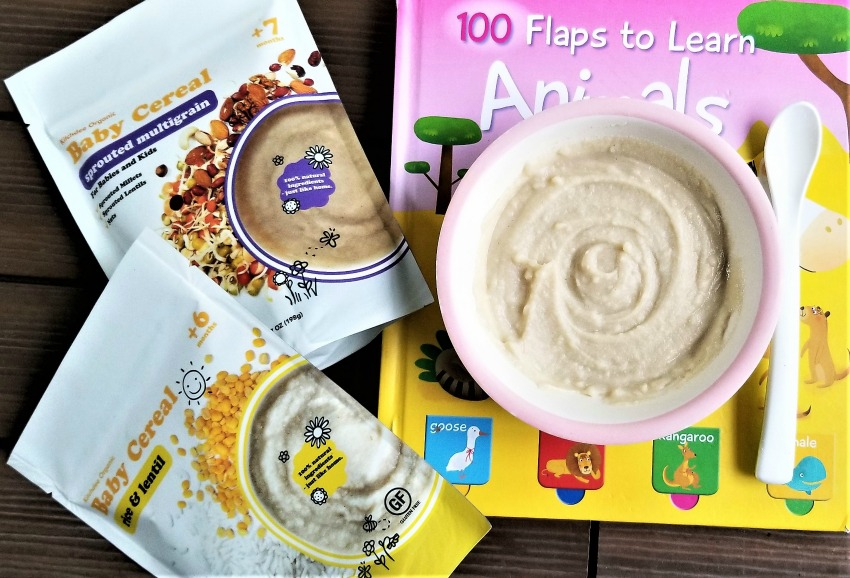 Ease Your Baby Into The Solid Food Journey With Kitchdee Organic Baby Cereal
