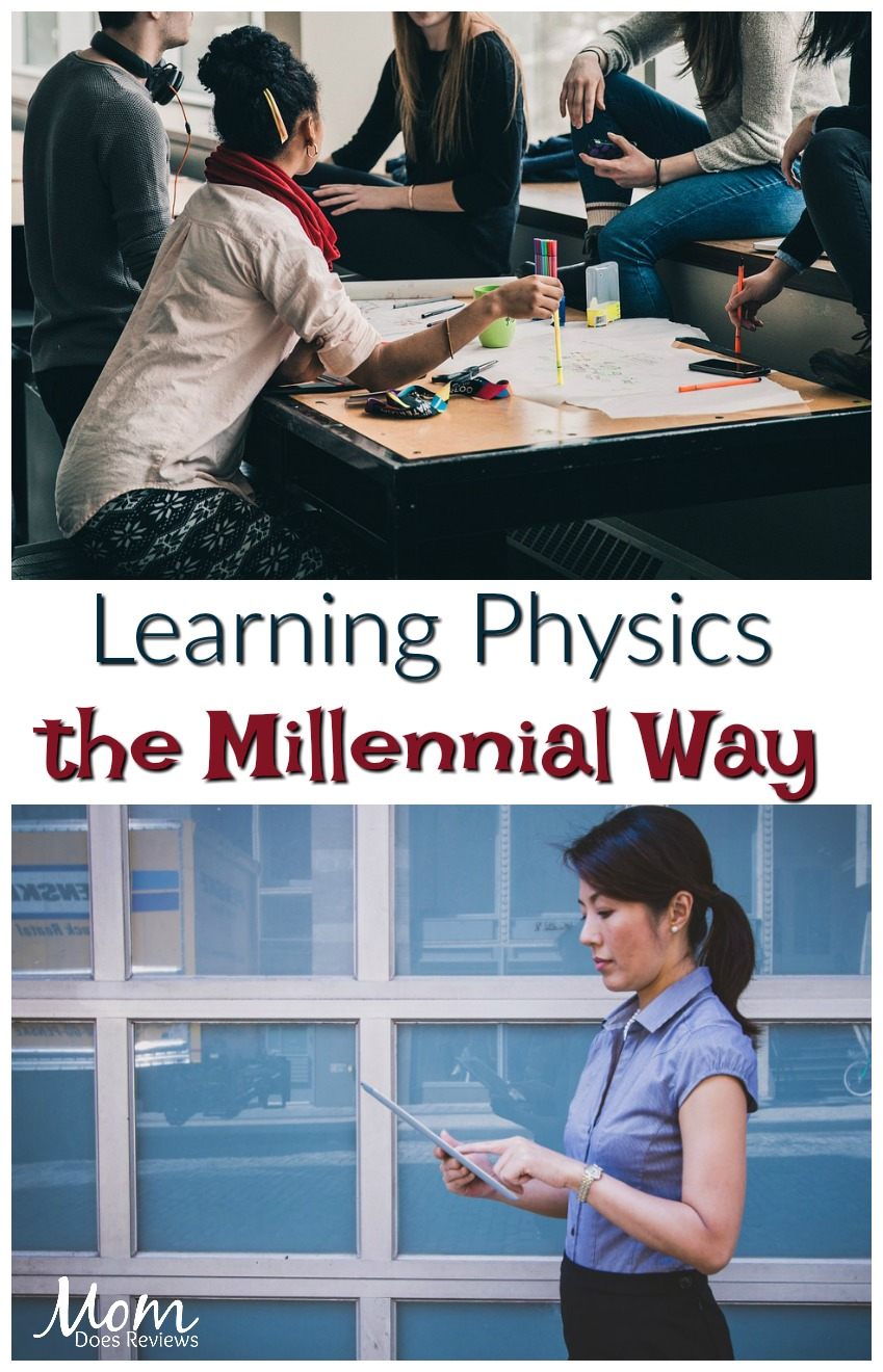 Learning Physics the Millennial Way #education