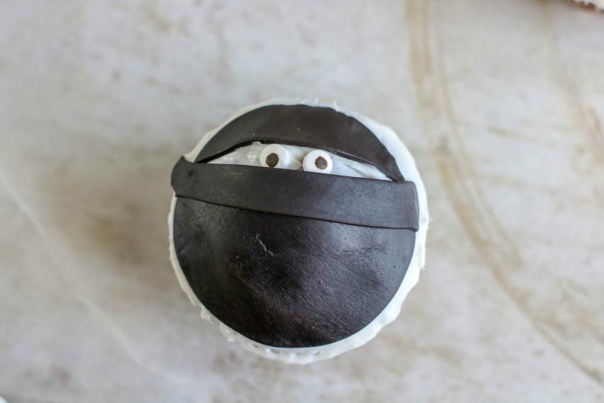 Ninja Cupcakes process