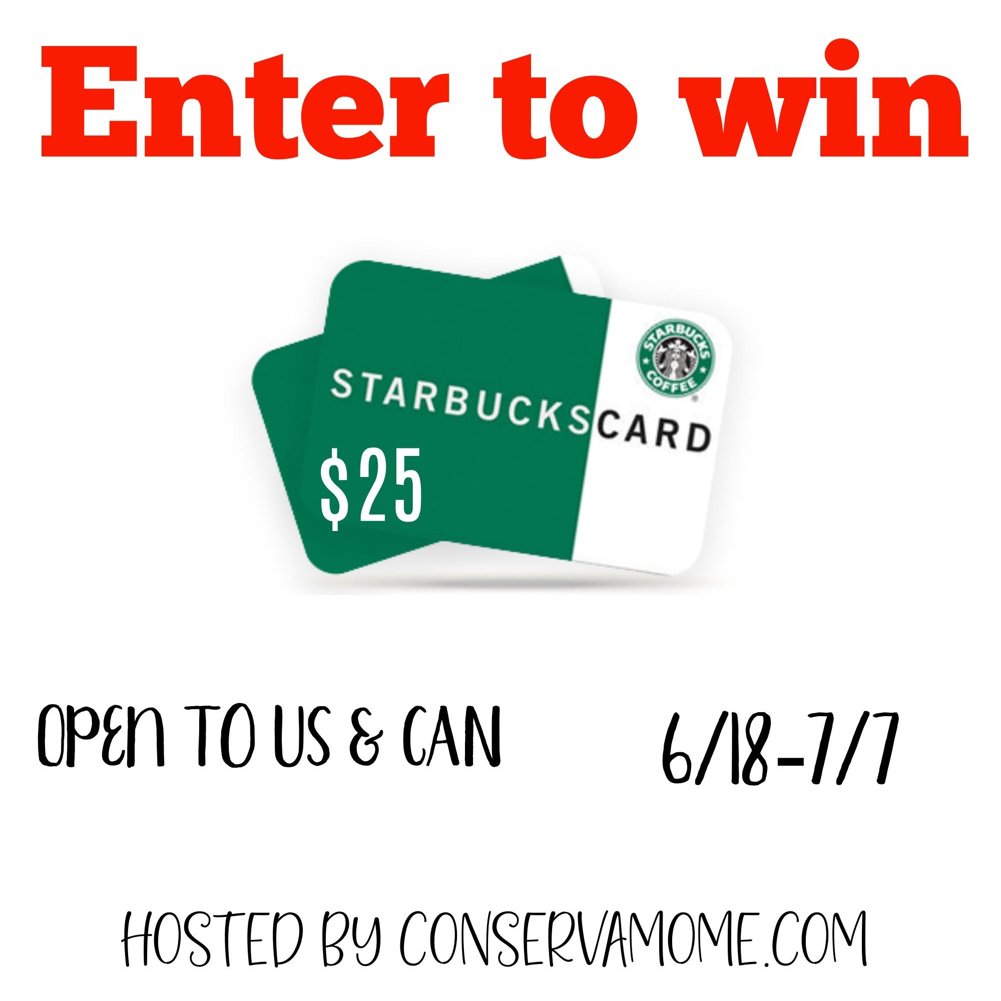 #Win $25 starbucks GC
