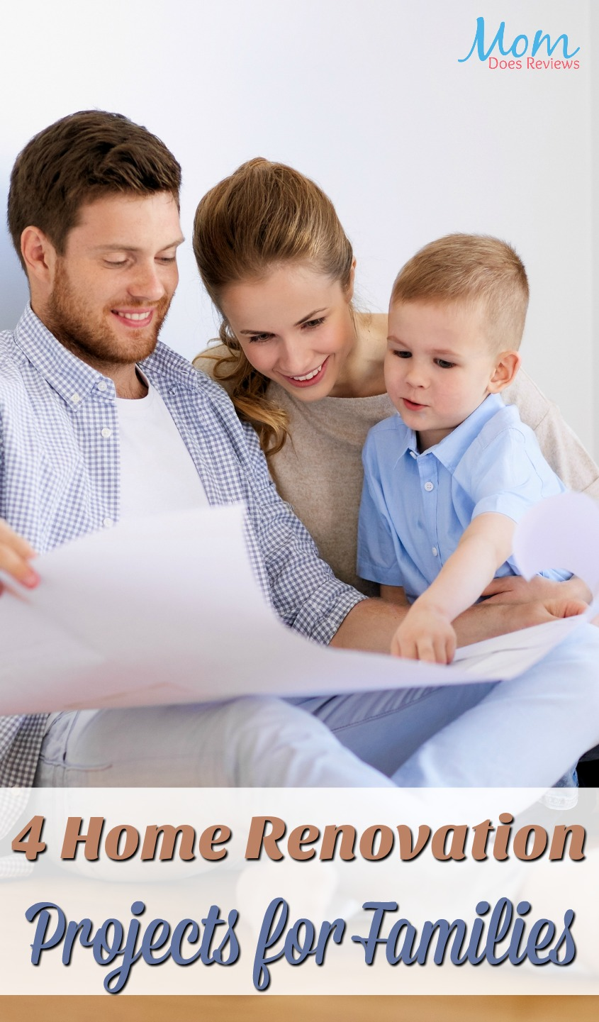 Weighing the Costs: 4 Home Renovation Projects for Families #homeandliving #renovation #family #familyprojects