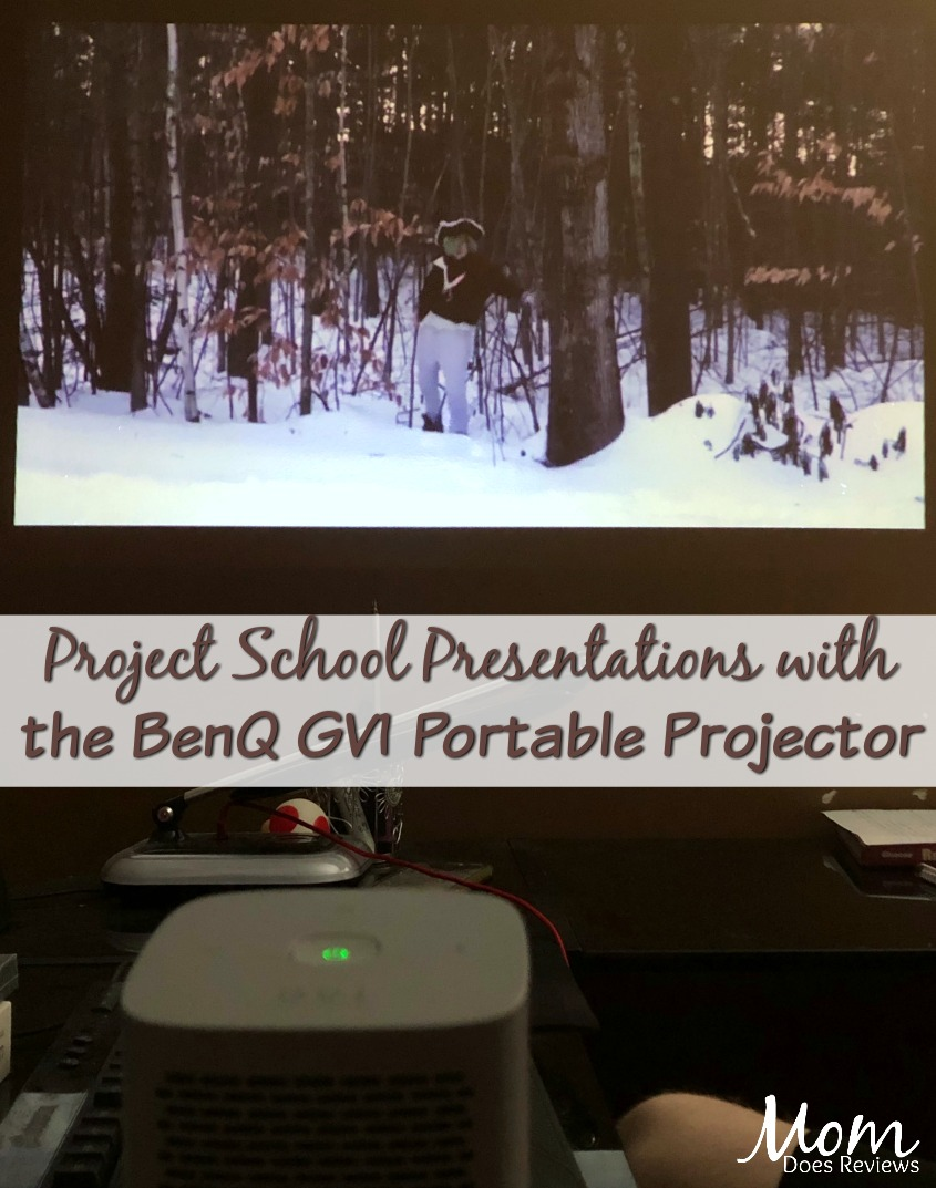 BenQ Portable Projector with Wi-Fi - Big Screen Entertainment Anywhere! #SuperDadGifts19