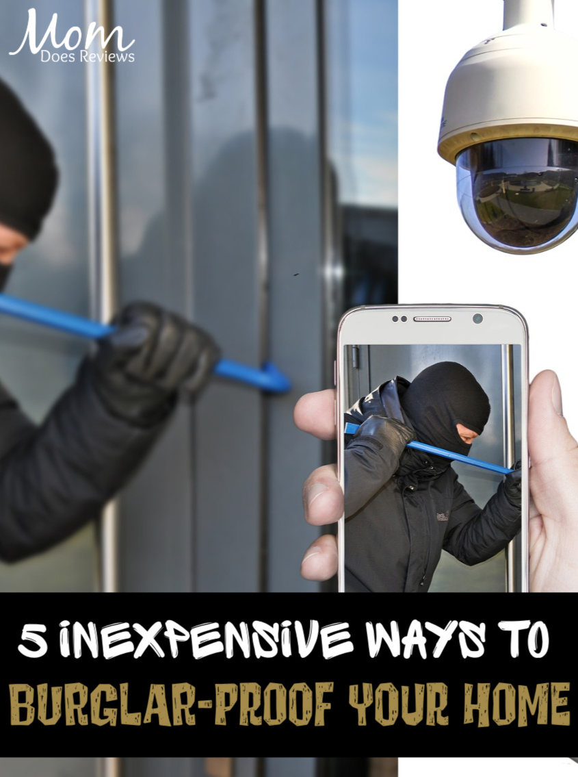 5 Inexpensive Ways to Burglar-Proof Your Home #home #Security #burglary #homesafety