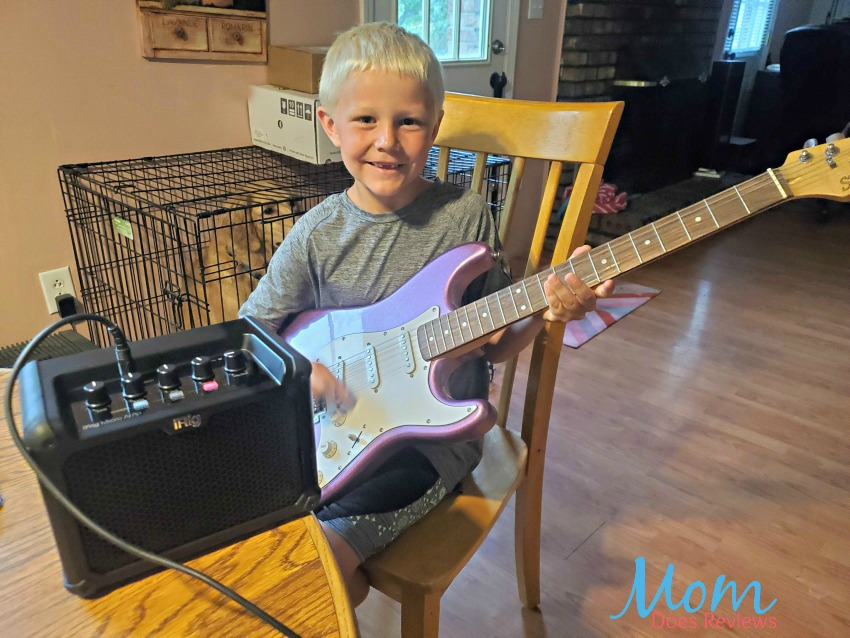 Elevate Dad's Jam Sessions with a iRig Micro Amp