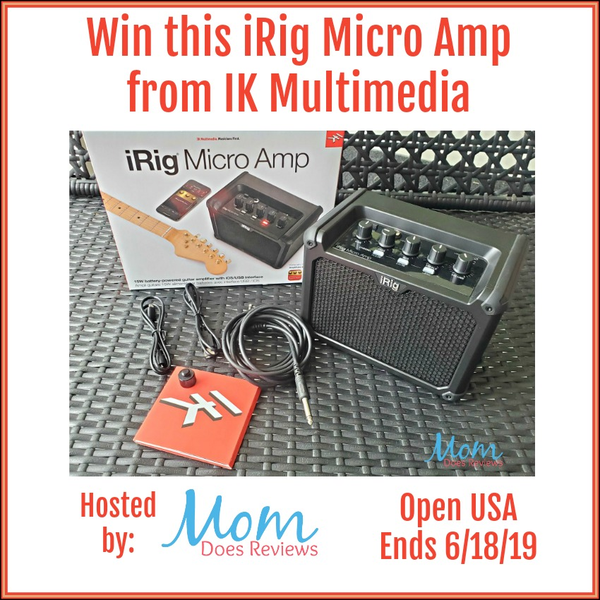 Win iRig Micro Amp Open to USA, ends 6/18