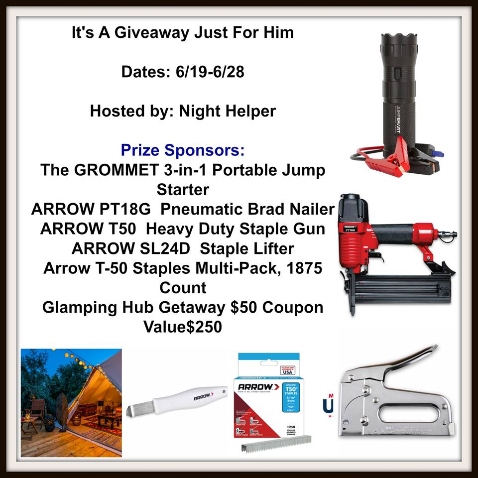 Just for Him #Giveaway $250 value