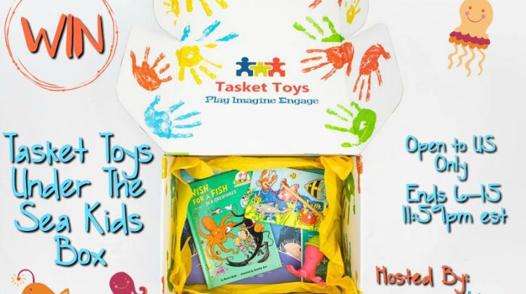 #Win Tasket Toys Under The Sea Kid's Box Open to US Only, ends 6/15 #MDRSummerFun