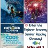 Explorer Academy Summer Reading #Giveaway! ($47 arv) US, ends 7/5 #ExplorerAcademy #MDRSummerFun