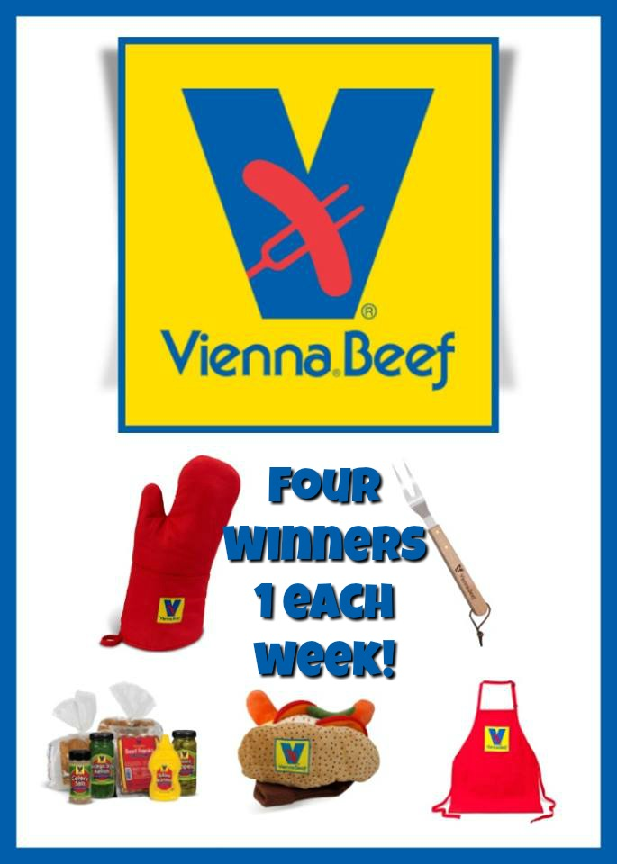 #Win Weekly Freddy's & Vienna Beef Swag Bag Prize Packs, Grand Prize $100 Visa GC and More!