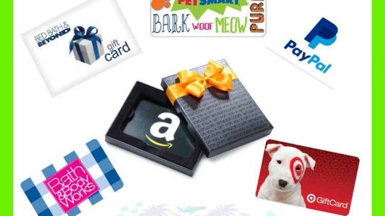 $50 e-Gift Card Giveaway