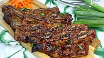 Asian Hawaiian BBQ Short Ribs