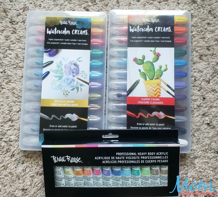 Enjoy Summertime Art with Brea Reese Watercolor Kits and Crafts