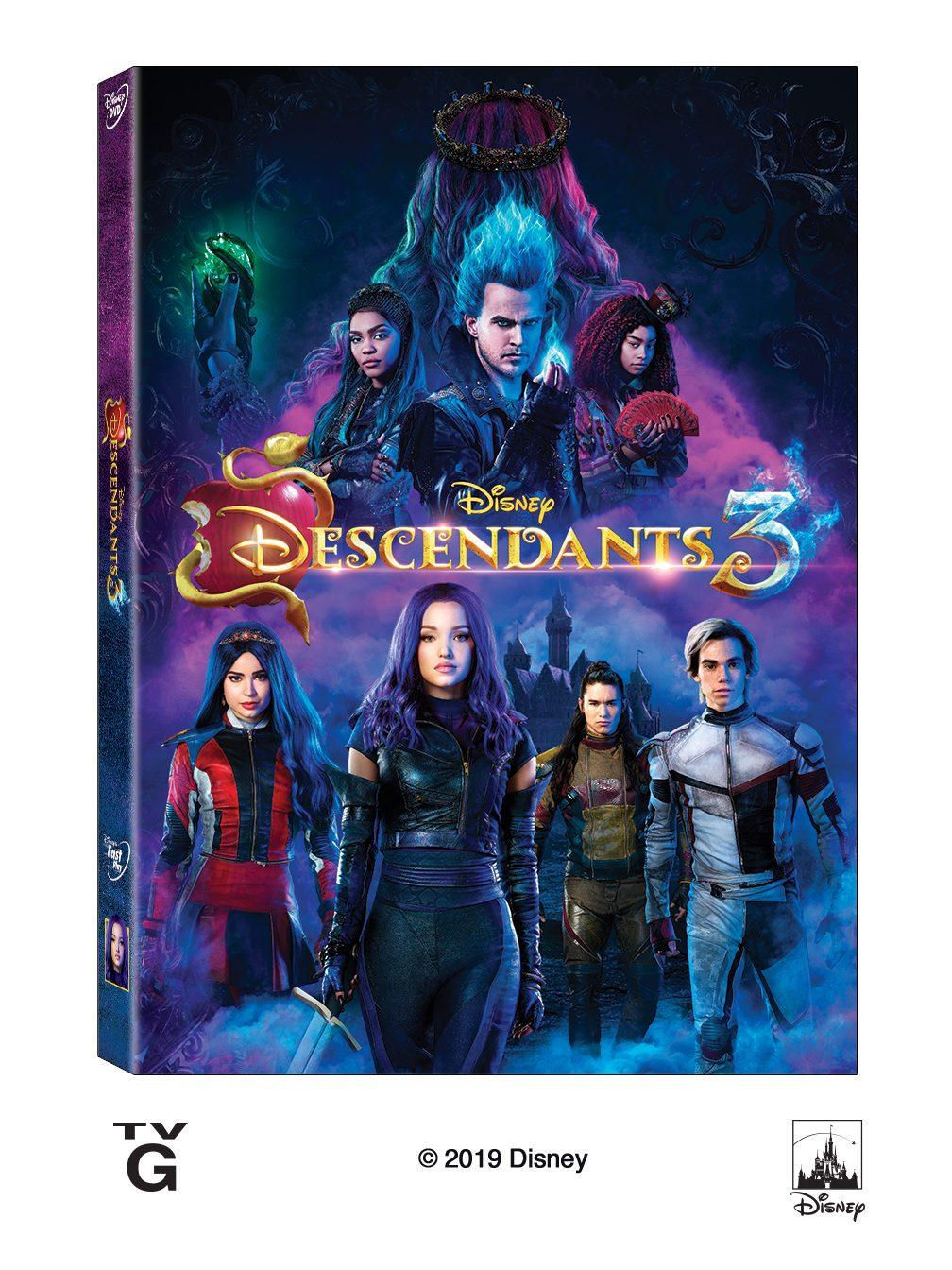 DESCENDANTS 3 Available on Disney DVD August 6th