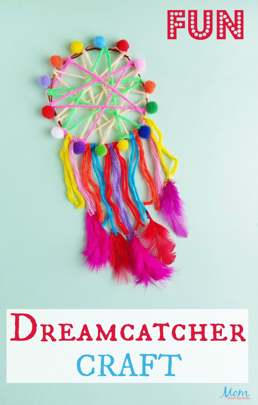 Fun Dreamcatcher Craft #diy #crafts #funstuff #dreamcatcher