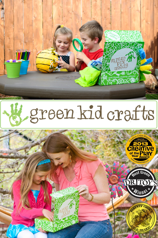 #Win 6 Month Subscription to Green Kid Crafts (APV $180) US, ends 7/22