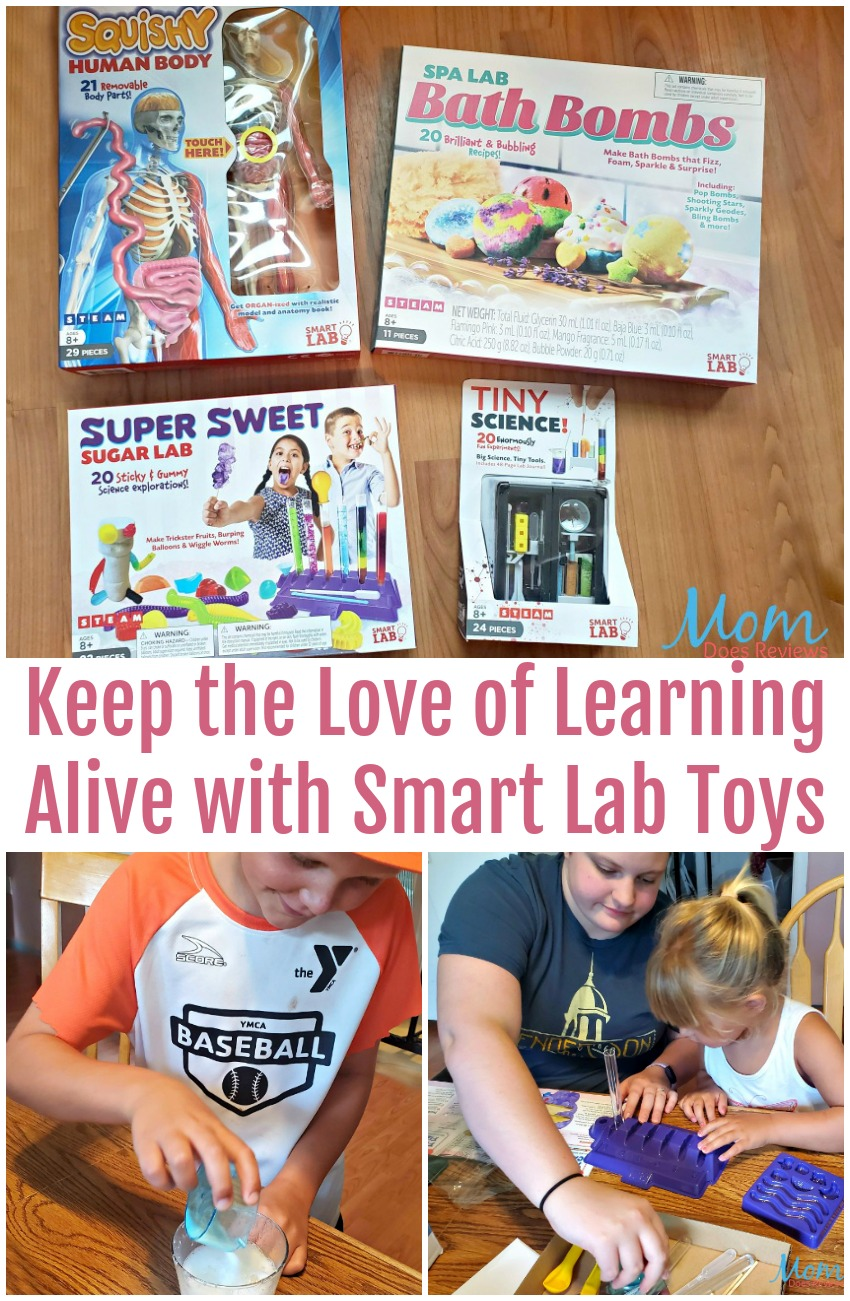 Keep the Love of Learning Alive with Smart Lab Toys
