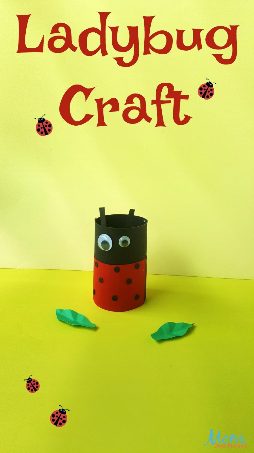 Ladybug Toilet Paper Roll #Craft for Kids #ladybug #craftsforkids #easycraft #fun