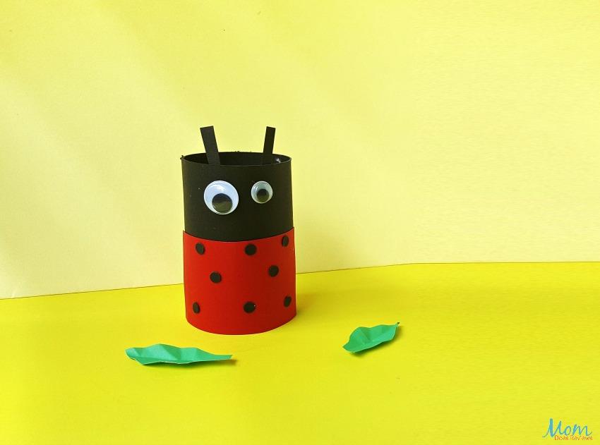Ladybug Toilet Paper Roll Craft for Kids