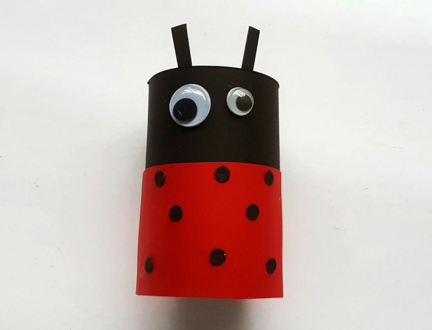 Ladybug Craft process