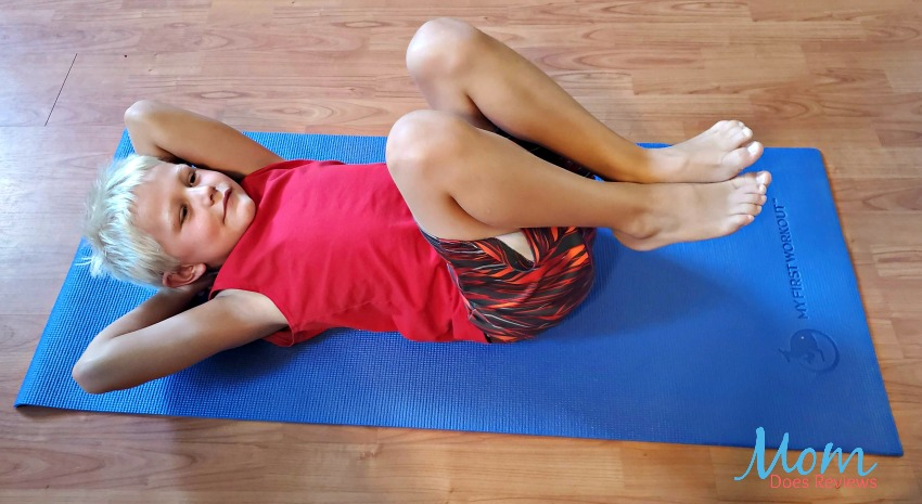 Teach Your Children to Enjoy Exercising with MY FIRST WORKOUT