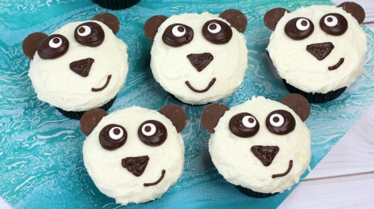 Easy Panda Cupcakes Recipe & Tutorial