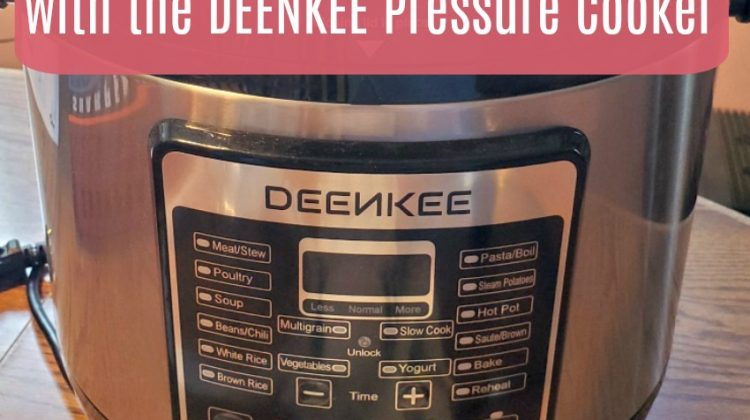 Save Time and Money Cooking with the DEENKEE Pressure Cooker