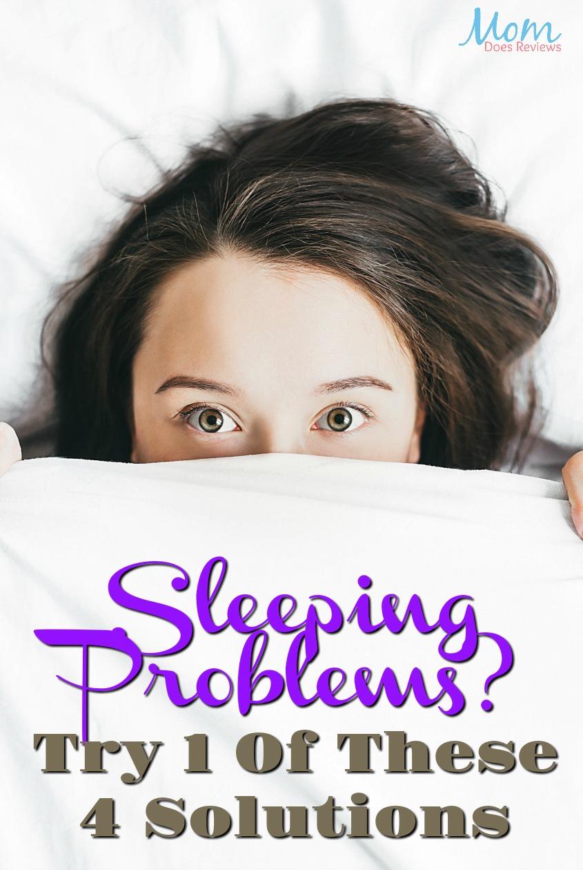 Sleeping Problems? Try One Of These 4 Solutions #health #sleep #healthyliving #sleepapnea #insomnia
